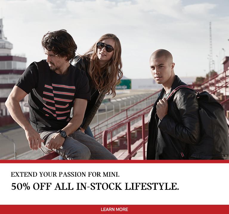 50% Off MINI Lifestyle