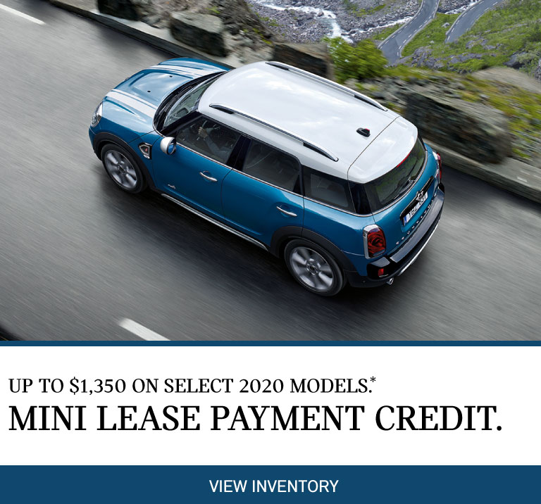Lease Payment Credit - New Car