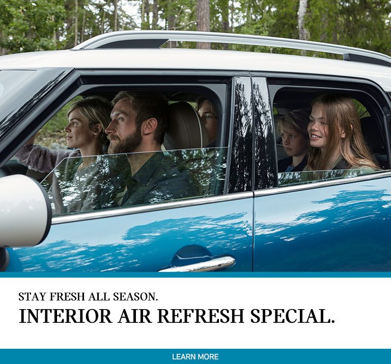 Interior Air Refresh: April 2018