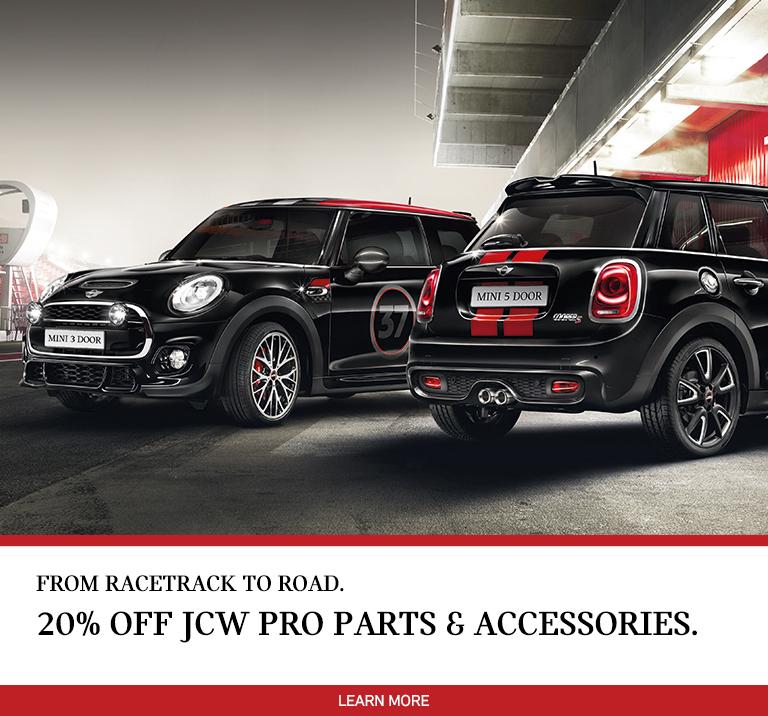 2018 JCW Parts & Accessories Sale