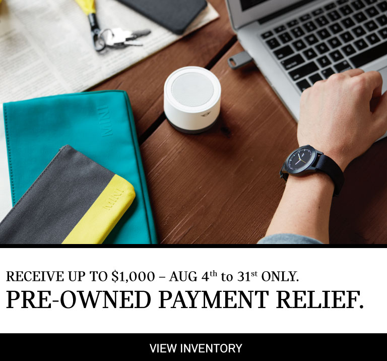 Pre-Owned Payment Relief