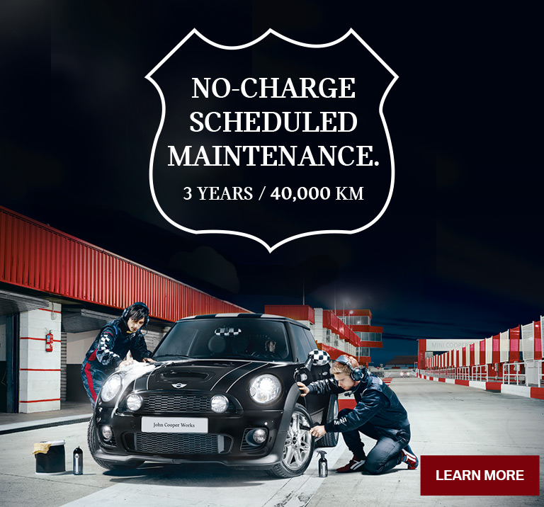 No-Charge Scheduled MINI Maitenance
