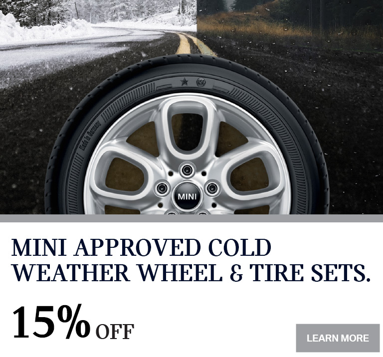 MINI Cold Weather Wheel & Tire Sets