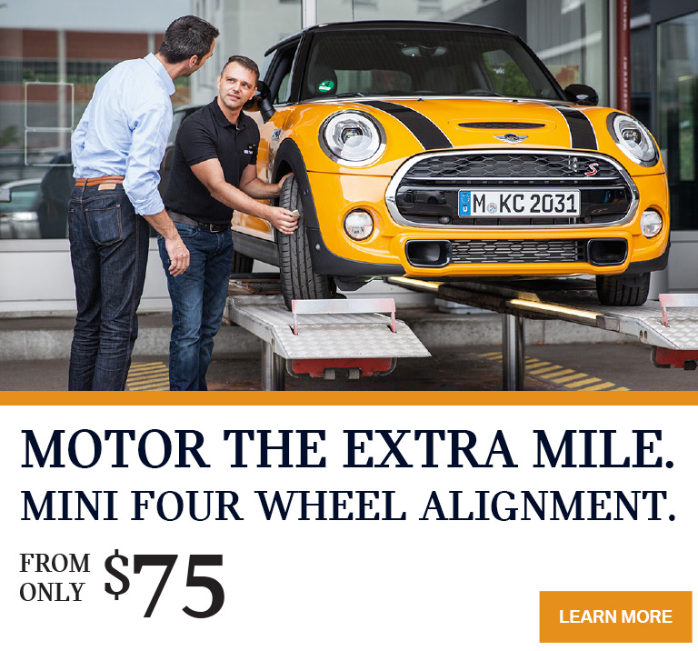 MINI Victoria 4 Wheel Alignment