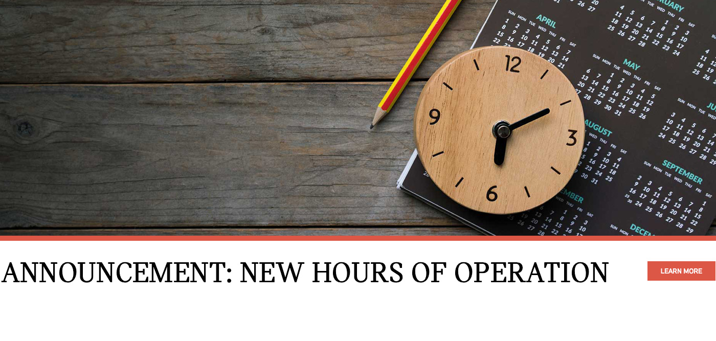 New Operation Hours