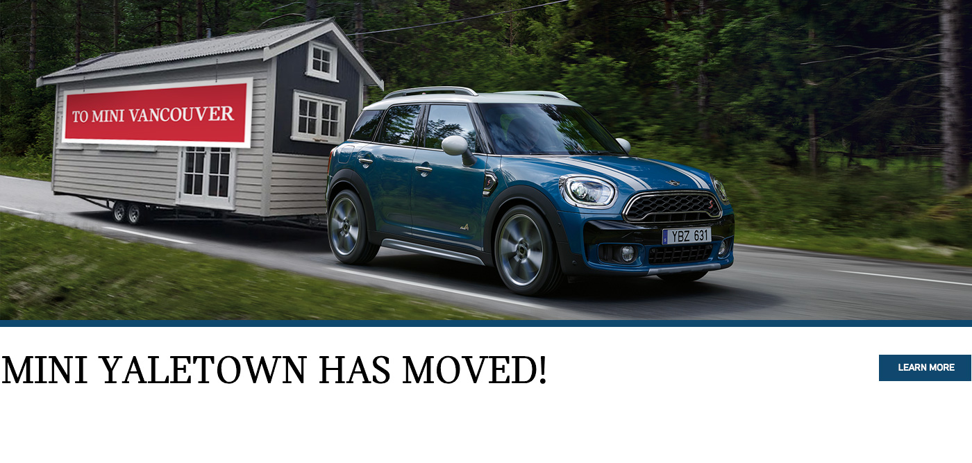 MINI Vancouver is moving