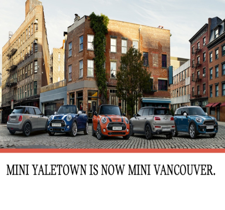 MINI Yaletown is now MINI Vancouver