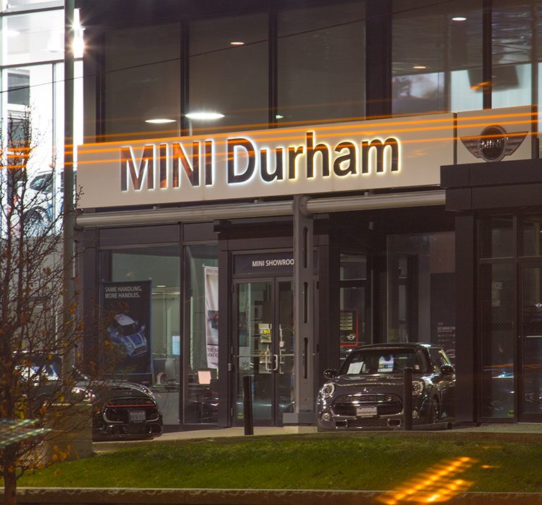Welcome to MINI Durham
