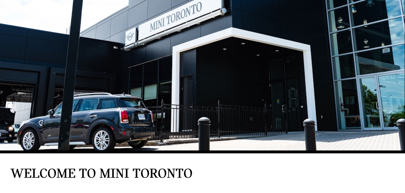 Welcome to MINI Toronto