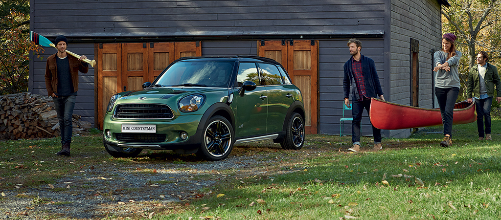 BUNDLE UP THIS NOVEMBER WITH THE MINI COUNTRYMAN