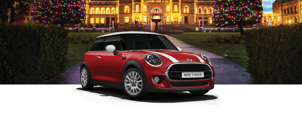 BRING HOME THE MINI 3 DOOR FOR THE HOLIDAYS