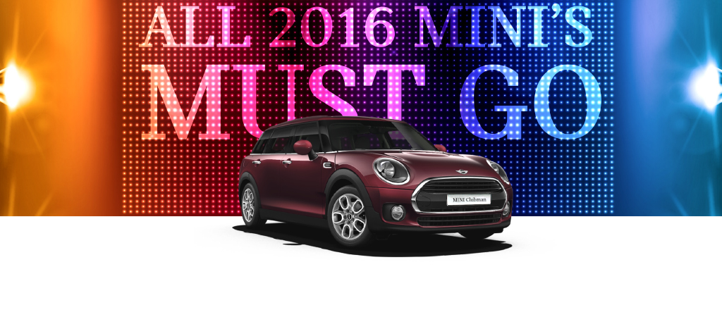 2016 MINI Clubman Blowout