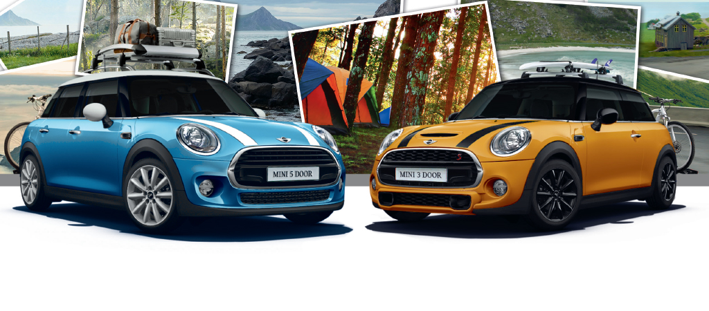 START YOUR MOTORING ADVENTURES WITH THE MINI 3 DOOR OR 5 DOOR.