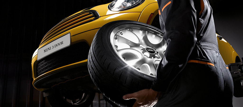 15% Off MINI FOUR WHEEL ALIGNMENT.