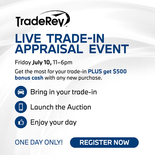 TRADE-IN APPRAISAL EVENT