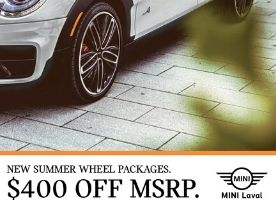 NEW SUMMER WHEEL PACKAGES