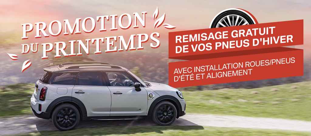 PROMOTION DU PRINTEMPS!