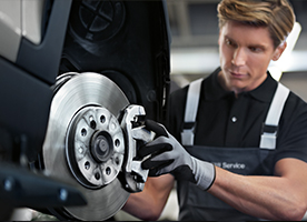 Winter Front and Rear Brake Service: 10% off