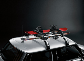 MINI Cross Rails, Roof Boxes, Ski/ Snowboard Holders: 15% OFF