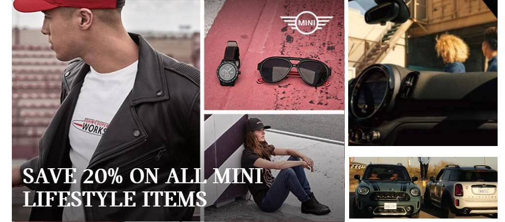 SAVE 20% ON ALL MINI LIFESTYLE ITEMS