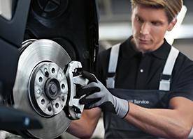 Front & Rear Brake Service : $299