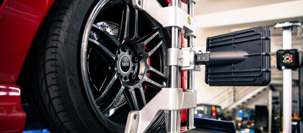 The MINI 4 Wheel Alignment: $169.95