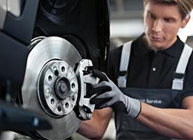 MINI Brake Inspection